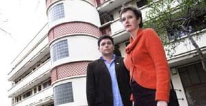 Alison Craighead and John Thompson in Spa Green estate, London