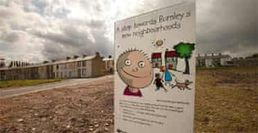 Houses in Burnley await renovation