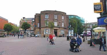 Stoke-on-Trent city centre