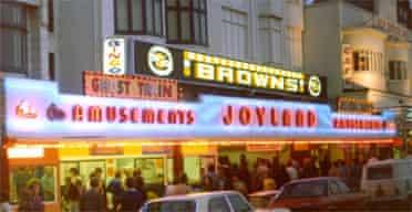 Joyland's Esplanade entrance, Bridlington