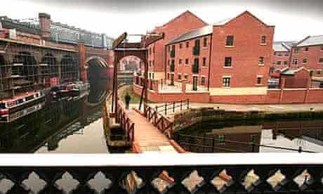 Regeneration at Manchester's Castlefield basin.