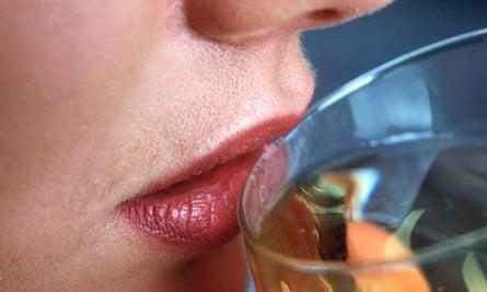 Wine drinking