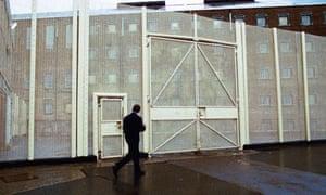 Outside a prison