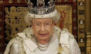 The Queen delivers the Queen's speech in the House of Lords