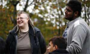 Camden council youth worker Sacha Kaufman