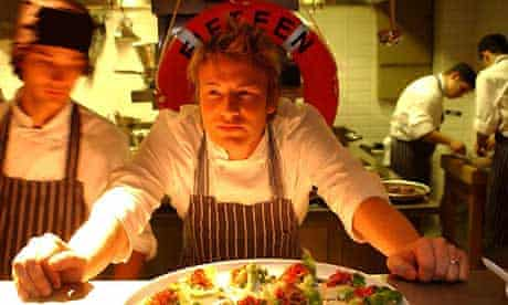 Jamie Oliver at Fifteen in London