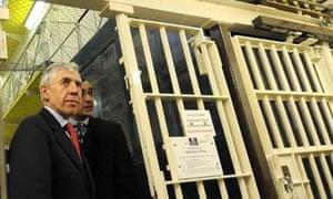 Jack Straw visits Armley Jail in Leeds