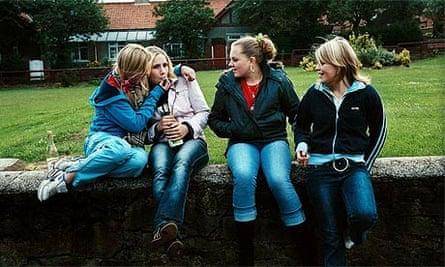 Underage drinking in Seaham, Co.Durham, 2004
