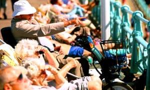 Pensioners in Brighton