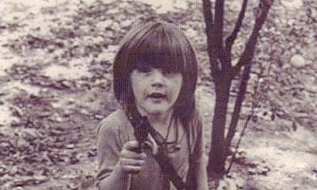Caspar Walsh as a boy