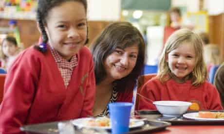 School meals campaigner Jackie Schneider. Photograph: Amit Lennon