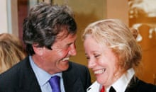 Liz Miller receives her Mind award from Lord (Melvyn) Bragg