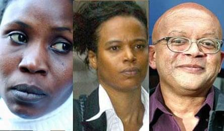 Mende Nazer, Lisa Arthurworrey and Phil Frampton
