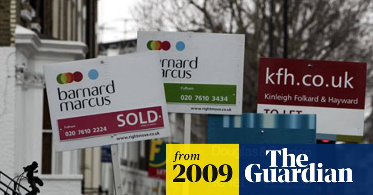 Huge increase in mortgage fraud, report police | Business | The Guardian