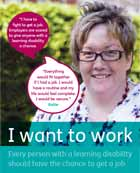 Mencap's I Want To Work campaign