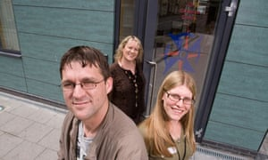 Staff at the Compass Centre in Bristol