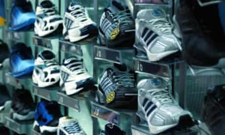Trainers. Brands can be a source for bullying in schools. Photograph: PA