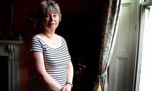 Gaynor Arnold, the social worker who became a writer, at home in Birmingham