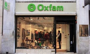 An Oxfam shop in New Bond Street, central London