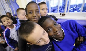 Primary school boys