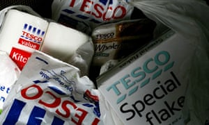 Groceries from Tesco