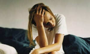 Woman with mental illness. Photograph: Getty