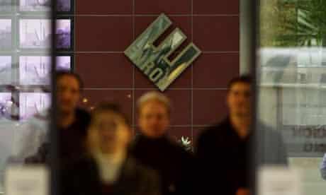 The old UK headquarters of Enron. Photograph: Martin Godwin
