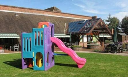 Naomi House children's hospice in Sutton Scotney, near Winchester, Hants. Photograph: Zoe Klassnik/PA