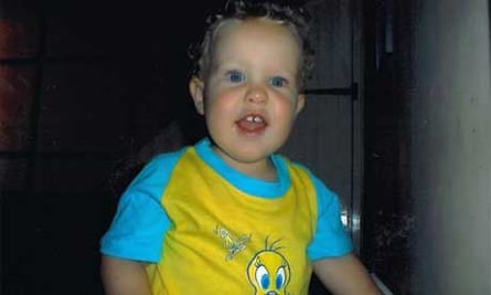 George Fisher who died aged 17 months, 10 days after having the MMR jab
