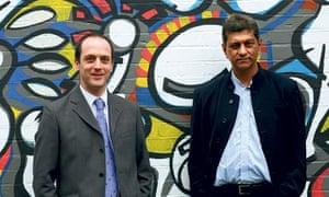 Richard Harwin and Krishna Maharaja