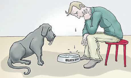 Image from Living With a Black Dog by Matthew and Ainsley Johnstone