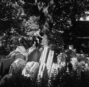 Gallery John Gay retrospective: Boy playing on gravestones