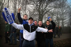 Gallery Inequality in Liverpool: Everton fans on derby day