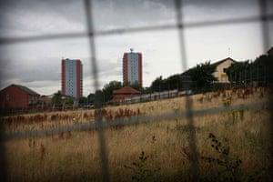 Gallery Inequality in Liverpool: Tower blocks loom in the distance