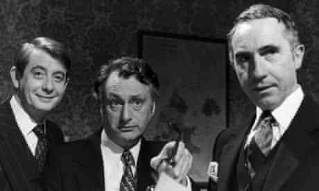Derek Fowlds, Sir Nigel Hawthorne and Paul Eddington in Yes Minister and Yes Prime Minister
