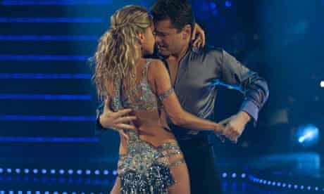 Chris Hollins and Ola Jordan, Strictly Come Dancing