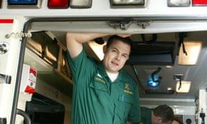 Ambulance paramedic David Davis