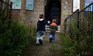 Children in Glasgow living in poverty