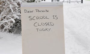 Hundreds Of Schools Closed Due To Heavy Snow Education
