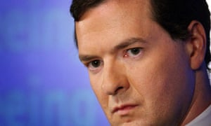 Conservative party shadow chancellor George Osborne