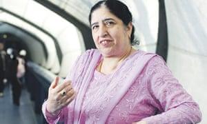 Bushra Nasir, headteacher of Plashet School, east London