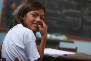 The Young Lives project: Girl in the classroom in Vietnam