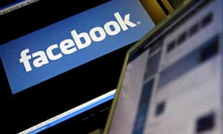 Logo of social networking website Facebook