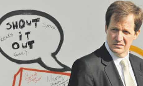 Alastair Campbell, Launch of  Mind campaign 'Get it off your Chest', 11 May 2009