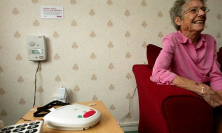 Telecare user in Newham