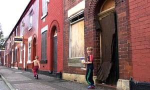 Empty housing in Salford