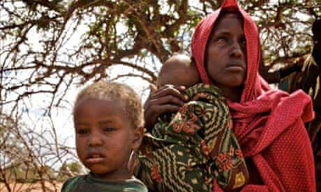 Save the Children: Maryan with her young baby Ahmed and son Jibral