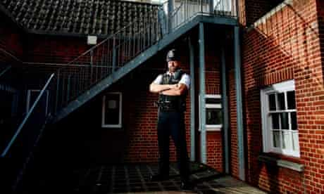 Policeman Andy Hewlett, diagnosed as HIV positive 15 years ago
