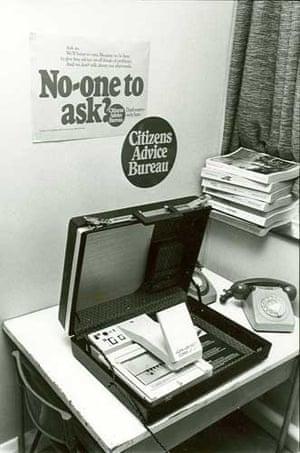 Citizens Advice at 70: Portable Citizen Advice Bureau's advice in microfiche form