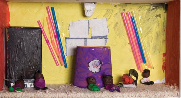 Shoebox Living - an Exhibition by Kids Company   Society   The Guardian